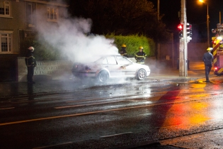 Car Fire Glasnevin-1