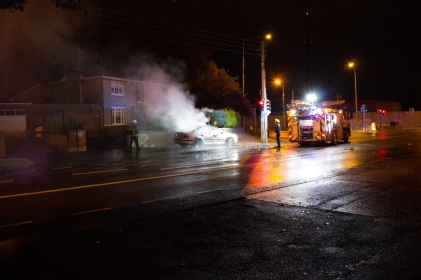 Car Fire Glasnevin-2