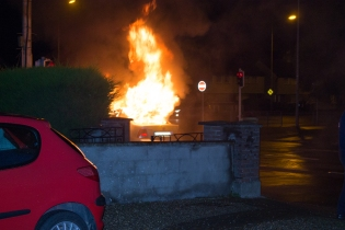 Car Fire Glasnevin-4459