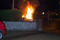 Car Fire Glasnevin-4460