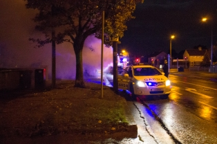 Car Fire Glasnevin-4469