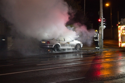 Car Fire Glasnevin-4477