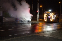Car Fire Glasnevin-4479