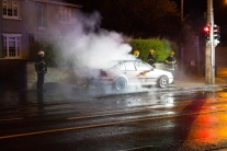 Car Fire Glasnevin-4486