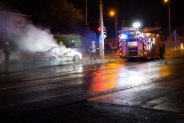 Car Fire Glasnevin-4487