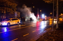 Car Fire Glasnevin-4490