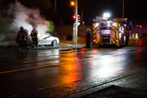 Car Fire Glasnevin-4505