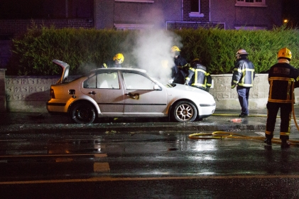 Car Fire Glasnevin-4509