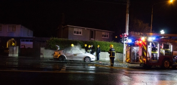 Car Fire Glasnevin-4513