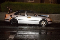 Car Fire Glasnevin-4528
