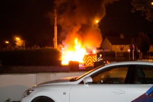 Car Fire Glasnevin-
